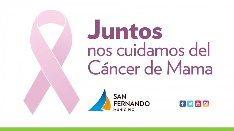 Jornadas de prevención por el Día Internacional del Cáncer de Mama en San Fernando