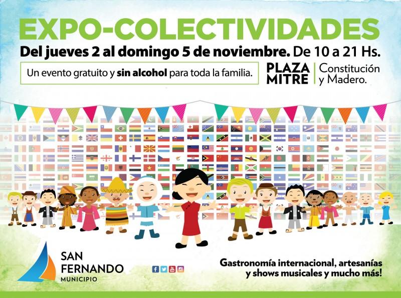 La Expo Colectividades vuelve a San Fernando
