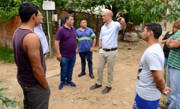 El Municipio pavimentó las últimas dos cuadras de tierra de San Fernando