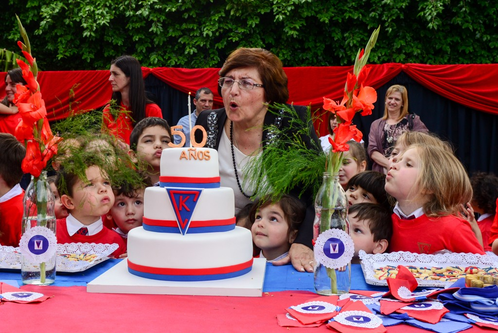 El Municipio estuvo presente en los 50 años del Jardín de Infantes El Cedro