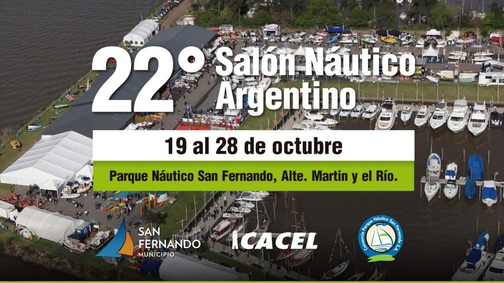 Comienza la 22º edición del Salón Náutico Argentino en San Fernando