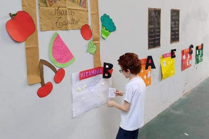 El Municipio brindó un taller de alimentación saludable para los chicos del CEIM Nº 4