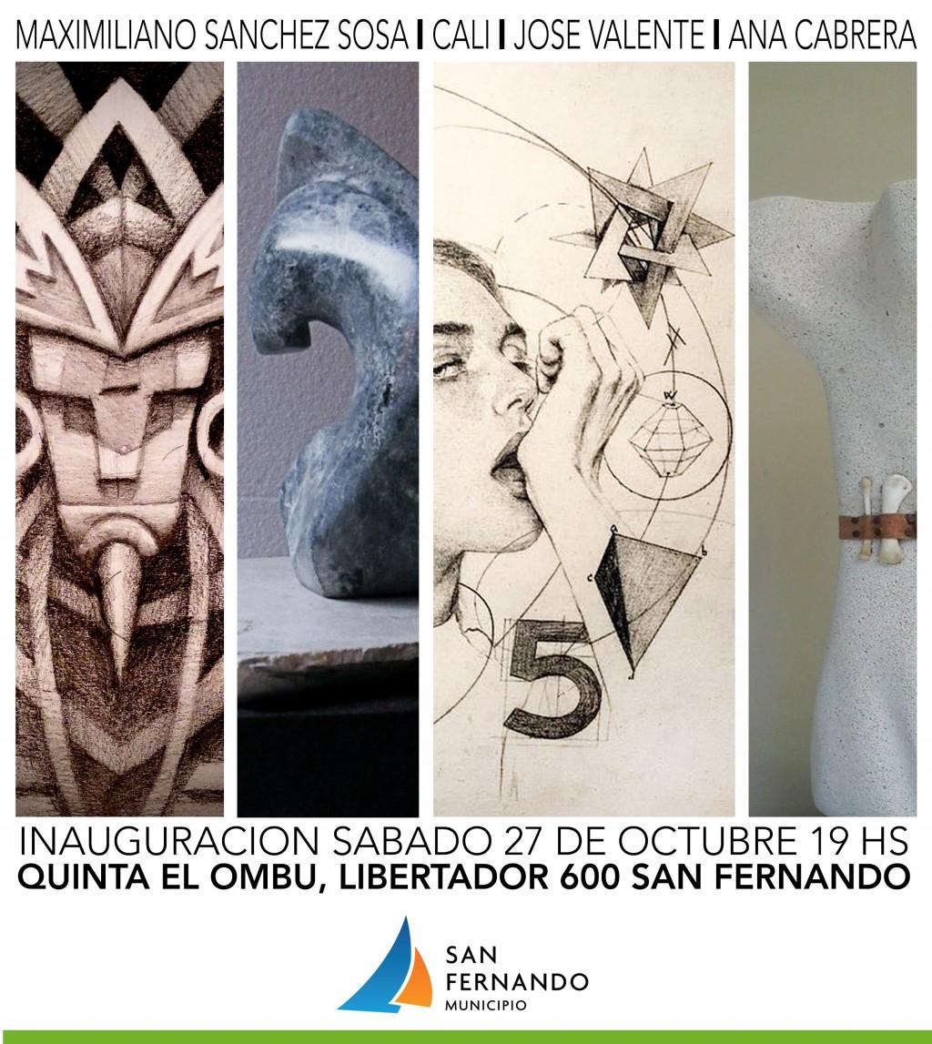 Este sábado, Muestra de Artes Visuales en la Quinta El Ombú de San Fernando