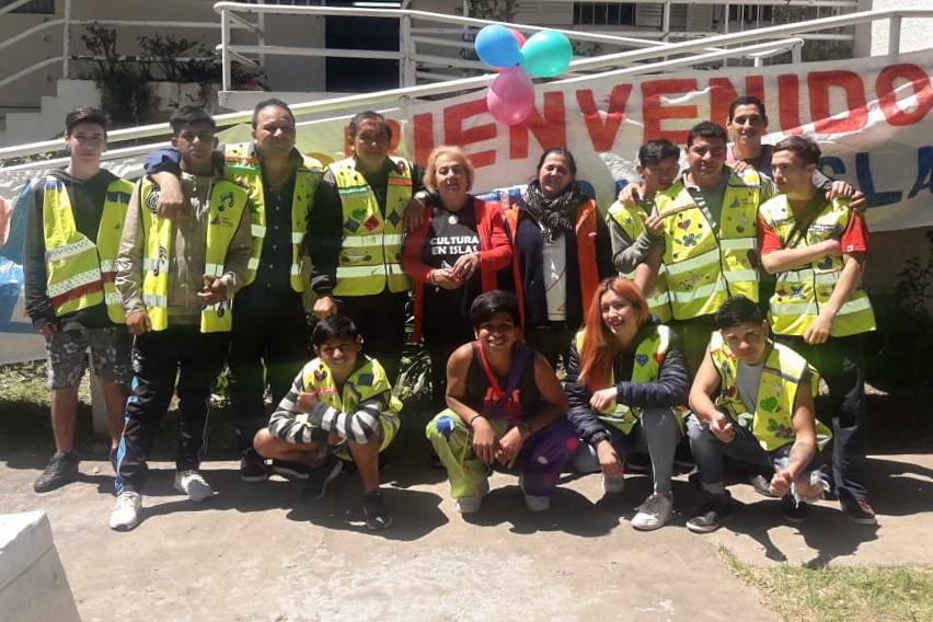 Los chicos del Centro Convivencial Terapéutico participaron del Día del Niño en Islas
