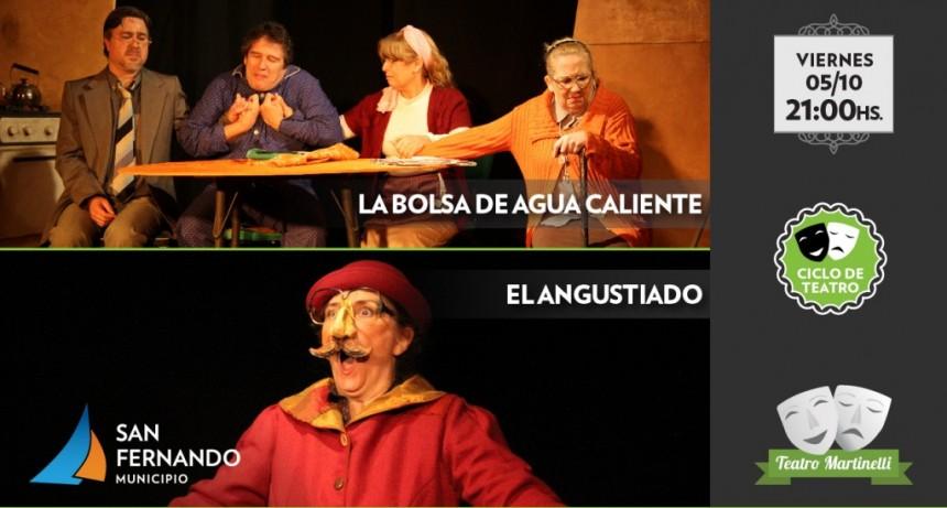 Se viene un finde a puro teatro en el Martinelli con 'Mujeres de Ceniza', 'Agua Caliente' y 'El Angustiado'