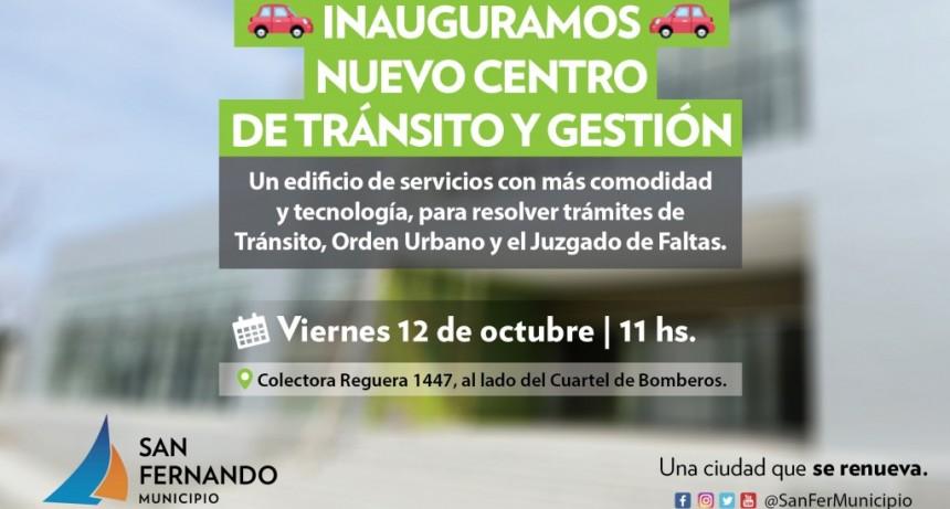 Gran inauguración del nuevo Centro de Tránsito y Gestión de San Fernando
