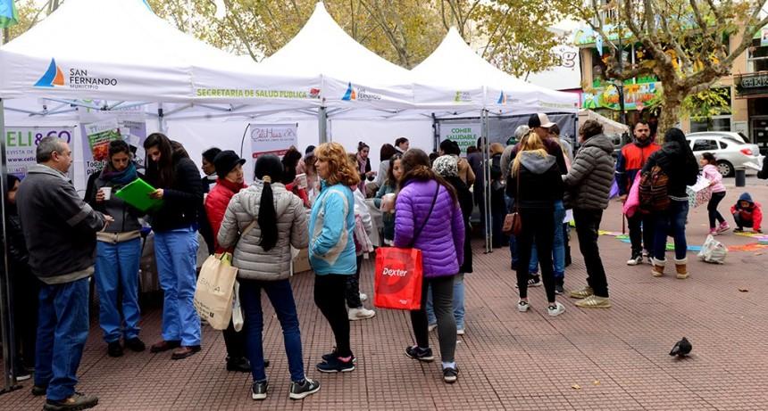San Fernando realizará una jornada de nutrición por el Mes de la Alimentación en la Plaza del Bicentenario