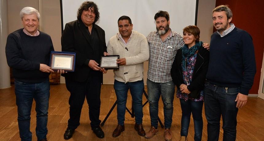 Luis Andreotti compartió el 20° aniversario del Centro de Ex Combatientes de Malvinas