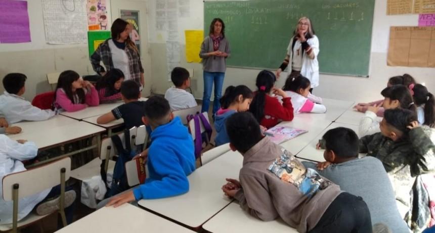 San Fernando brindó un taller de Educación Sexual Integral en la Escuela Nº 28