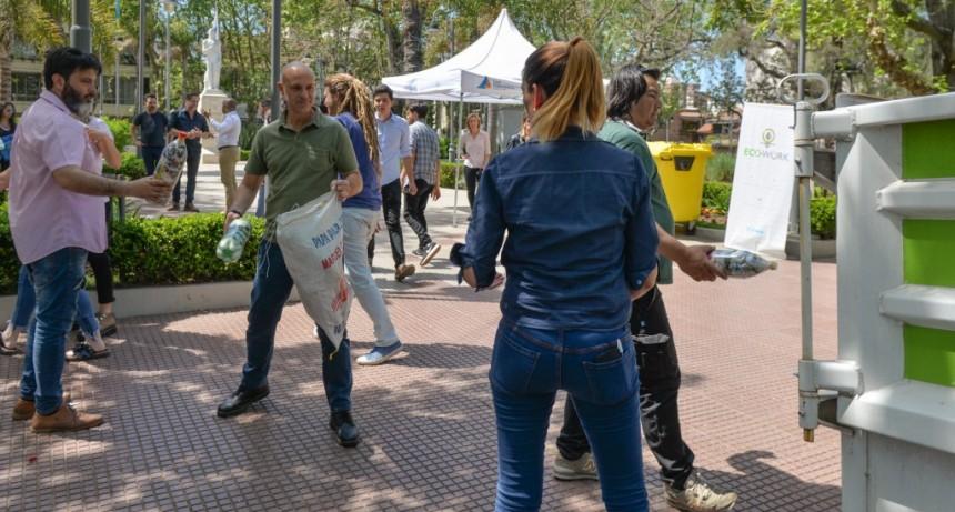 San Fernando profundiza tareas de reciclaje junto a la organización EcoWork