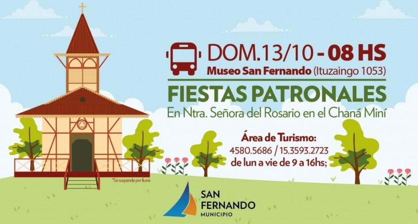San Fernando invita a las Fiestas Patronales de Nuestra Señora del Rosario en el Chaná Miní