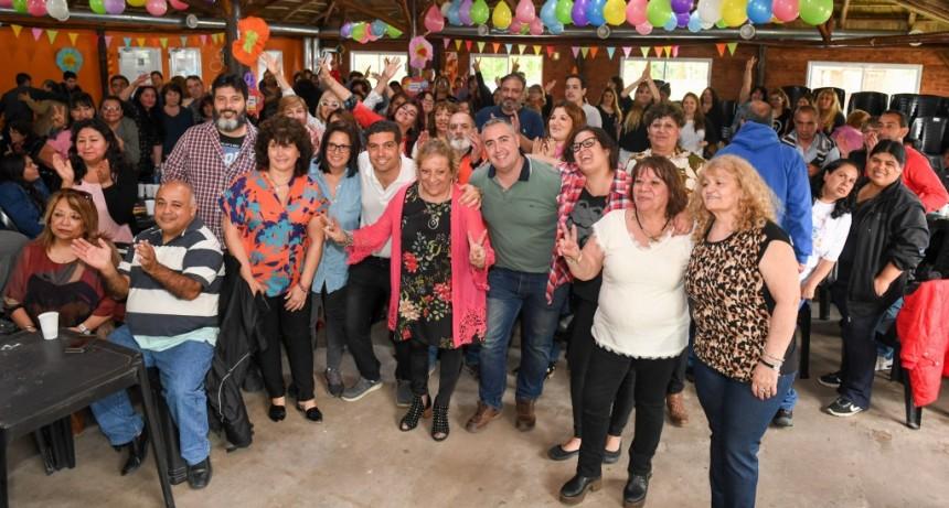 San Fernando celebró del Día del Auxiliar en el Poli N° 3