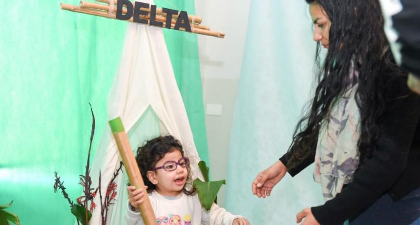 Jardines Maternales de San Fernando celebraron el ´Día de la Familia´ con juegos y proyectos de reciclaje