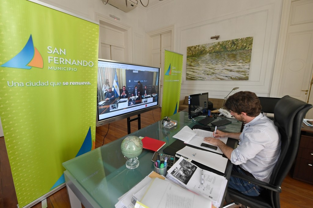 Juan Andreotti firmó convenio con Nación que permitirá equipar una futura Planta de Reciclaje Municipal