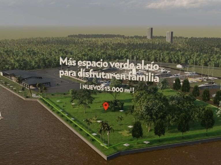 San Fernando ampliará el Parque Náutico con un gran espacio verde al río para disfrutar en familia