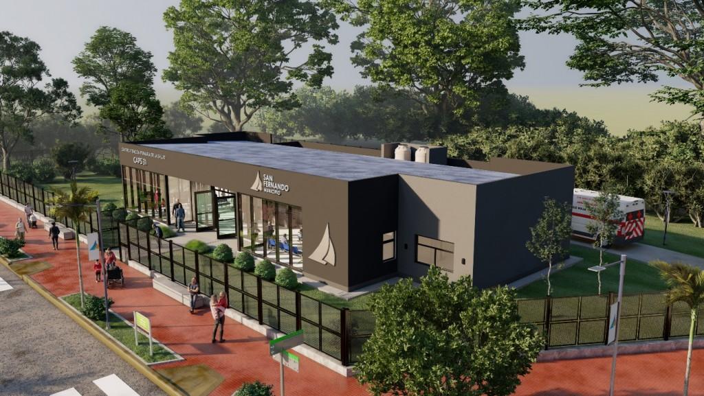 Juan Andreotti anunció la construcción de un nuevo Centro de Salud en San Fernando
