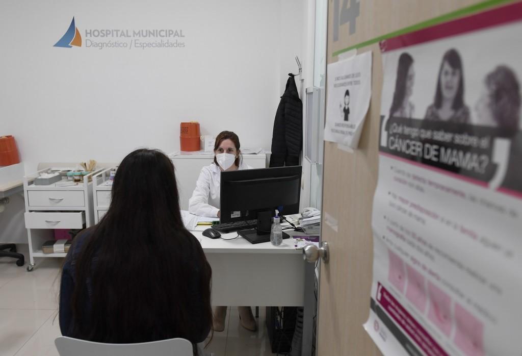 El Municipio de San Fernando trabaja en diagnóstico y prevención del cáncer de mama