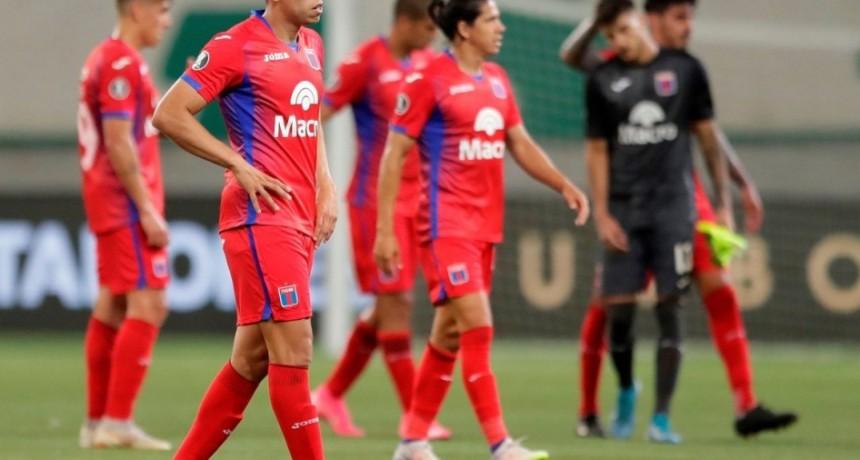 Tigre: 0-5 en Brasil y chau Copa