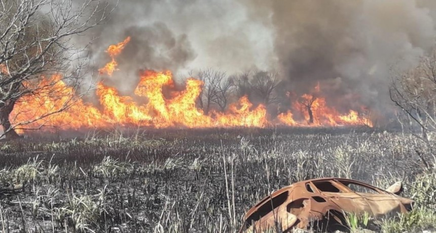 """Javier Parbst: """"Queremos frenar los incendios intencionales y los negociados sobre los humedales"""""""