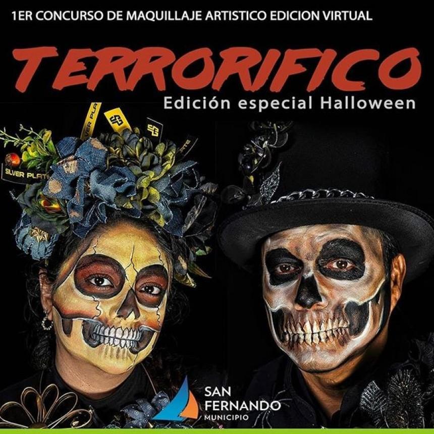 """El Taller de Maquillaje de San Fernando realiza el concurso """"Terrorífico"""""""