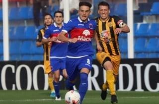 Tigre empató en un partido increíble y Almirante lo festeja