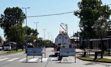 El Municipio de San Fernando realiza mejoras en la ex Ruta N° 197