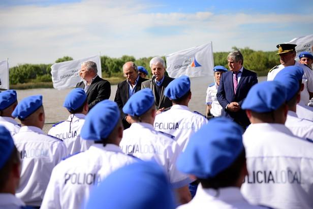 Andreotti y Granados celebraron el egreso de la primera Policía Local de San Fernando