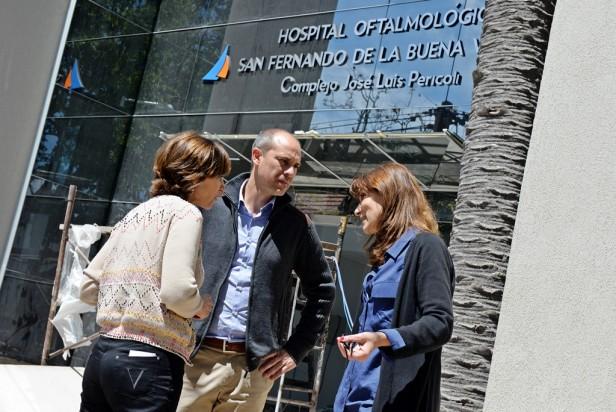 Se aproxima la inauguración del nuevo Hospital Oftalmológico de San Fernando