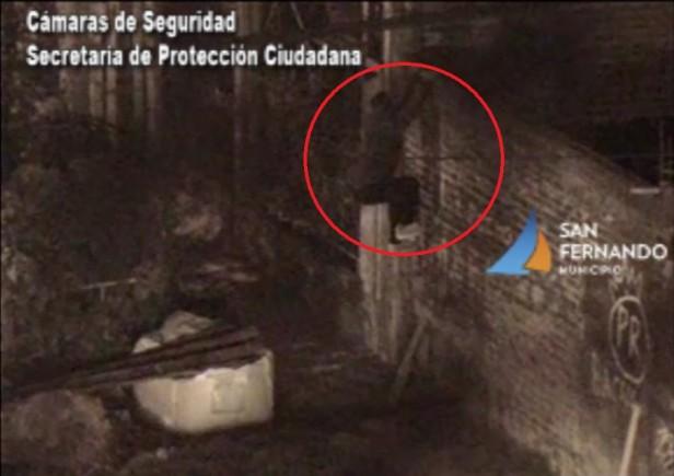 """Un """"acrobático"""" ladrón fue detenido por las Patrullas Municipales de San Fernando"""