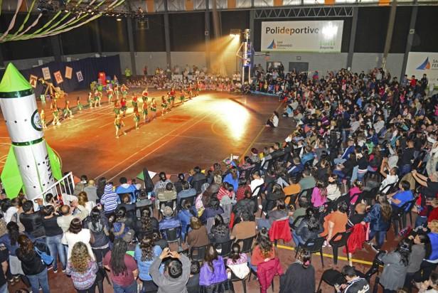 Los Polideportivos de San Fernando tuvieron una inolvidable Gimnasiada Infantil y Juvenil