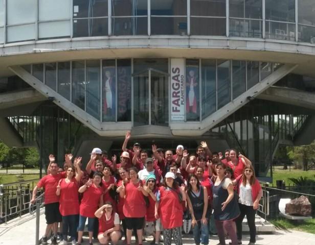El Taller Protegido Municipal de San Fernando visitó el Planetario