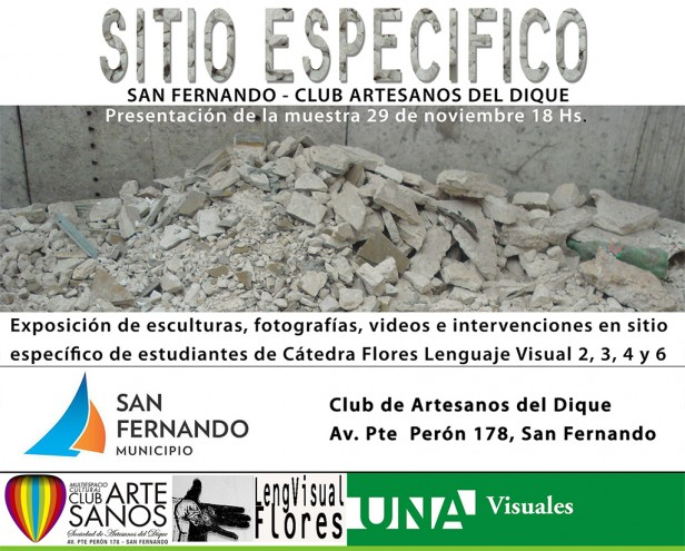 """San Fernando invita este domingo a un seminario y exposición de arte sobre """"sitio específico"""""""