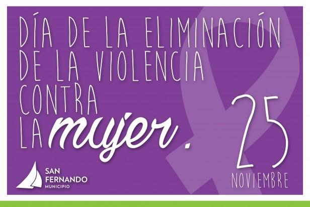San Fernando se suma a la campaña de Eliminación de la Violencia Contra la Mujer