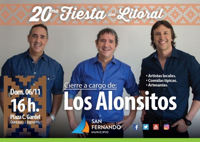 San Fernando celebra la '20° Fiesta del Litoral'