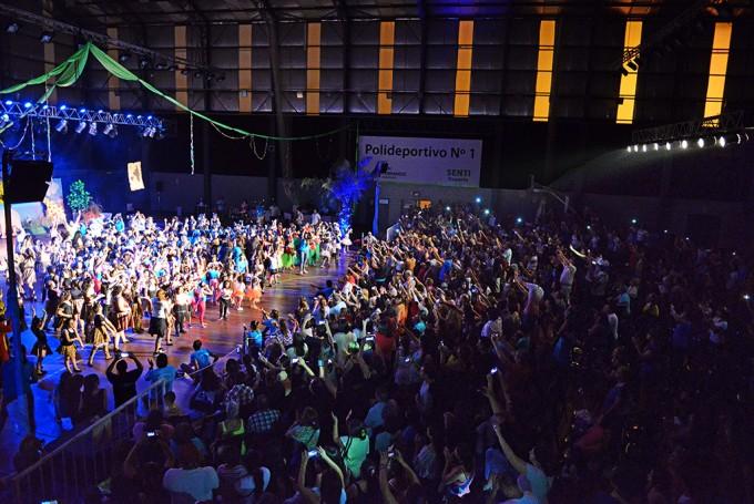 Los Polideportivos de San Fernando deslumbraron con sus Galas de Gimnasia