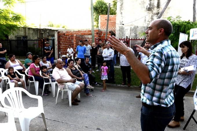 San Fernando anunció la construcción del Poli Nº9 en el barrio Presidente Perón
