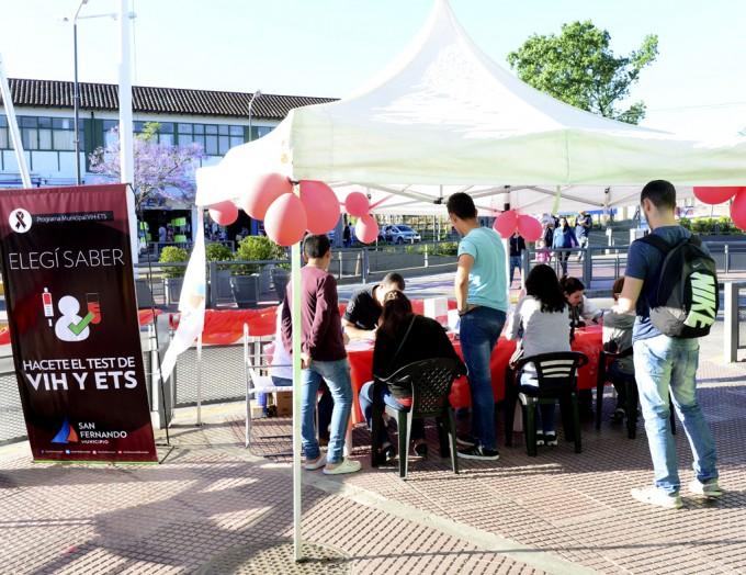El Municipio de San Fernando continúa su campaña contra el SIDA