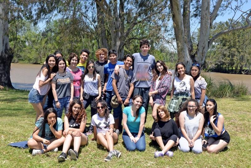 San Fernando organizó una visita a las islas para alumnos de secundarias