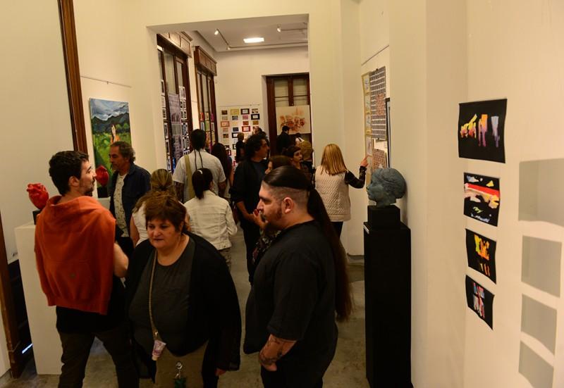 Se inauguró en el Museo de San Fernando la Muestra Anual de UNA Artes Visuales