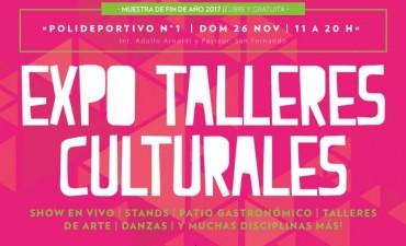 Este domingo, llega la Expo Talleres Culturales de San Fernando