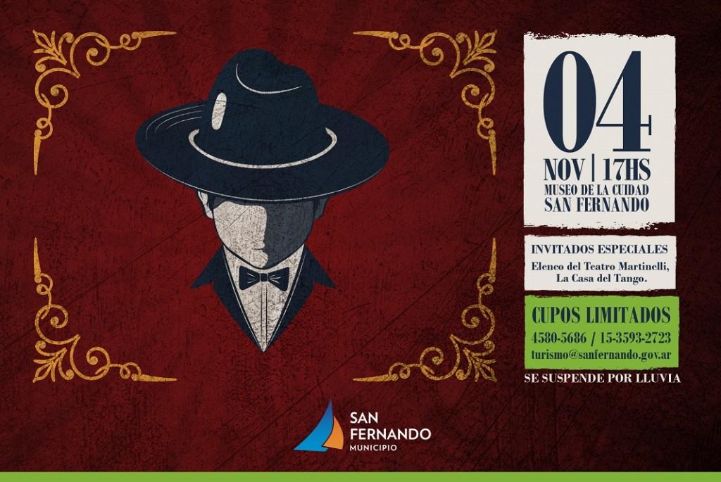 El Museo de la Ciudad de San Fernando vivirá una 'Tarde de Tango'