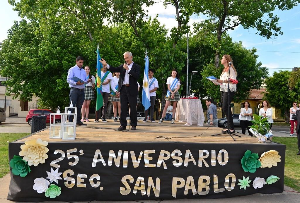 El Municipio celebró el 25° aniversario del Colegio San Pablo