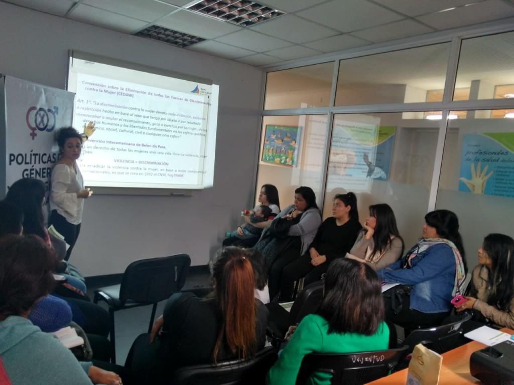 San Fernando capacitó a los referentes barriales en temáticas de violencia de género