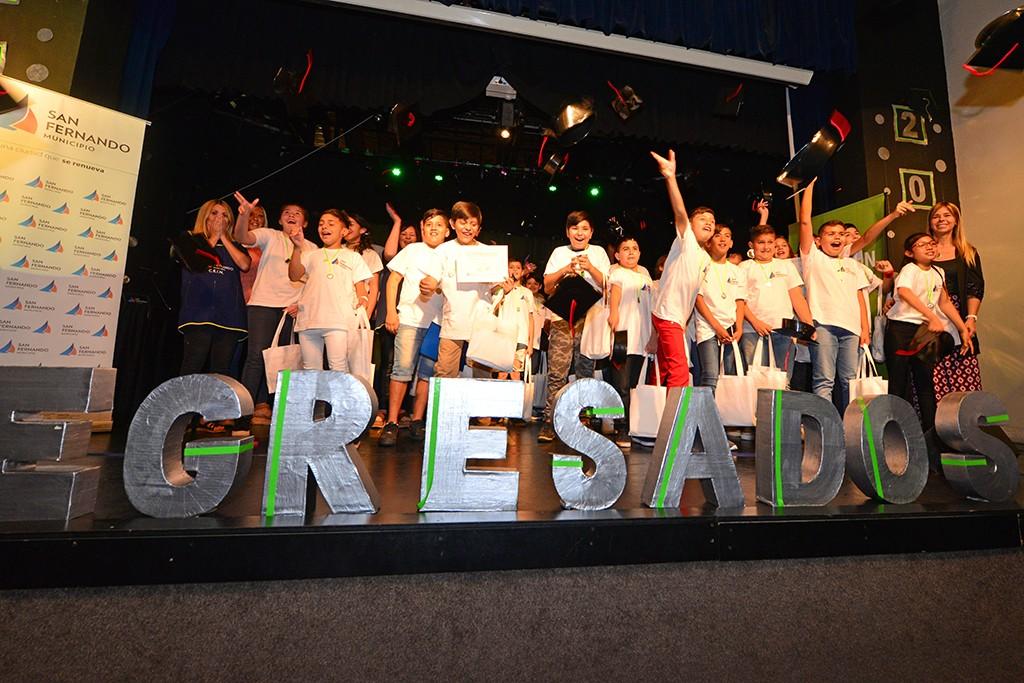Acto de Egresados de los Centros Educativos Municipales de San Fernando