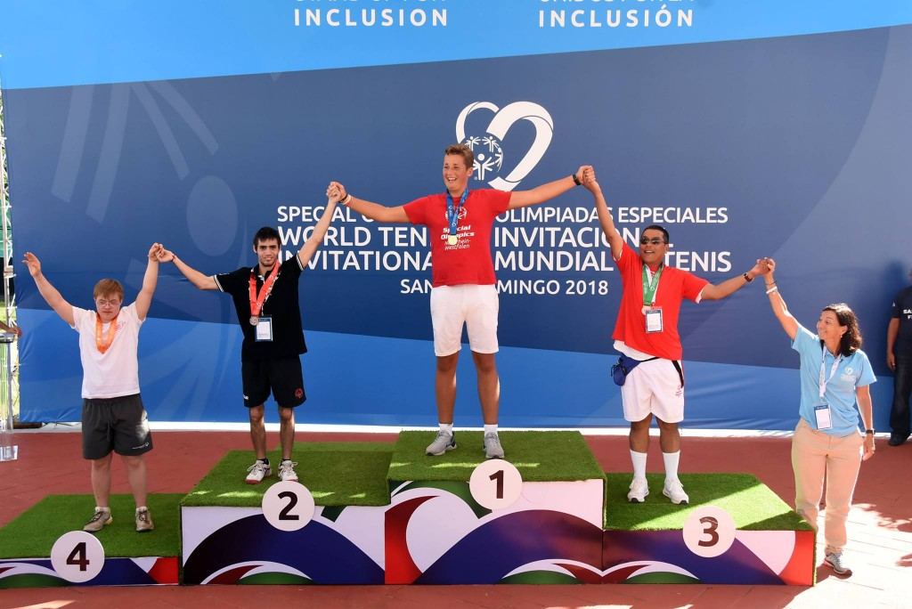 Medallas para sanfernandinos en el Mundial de Tenis para Personas con Discapacidad Intelectual
