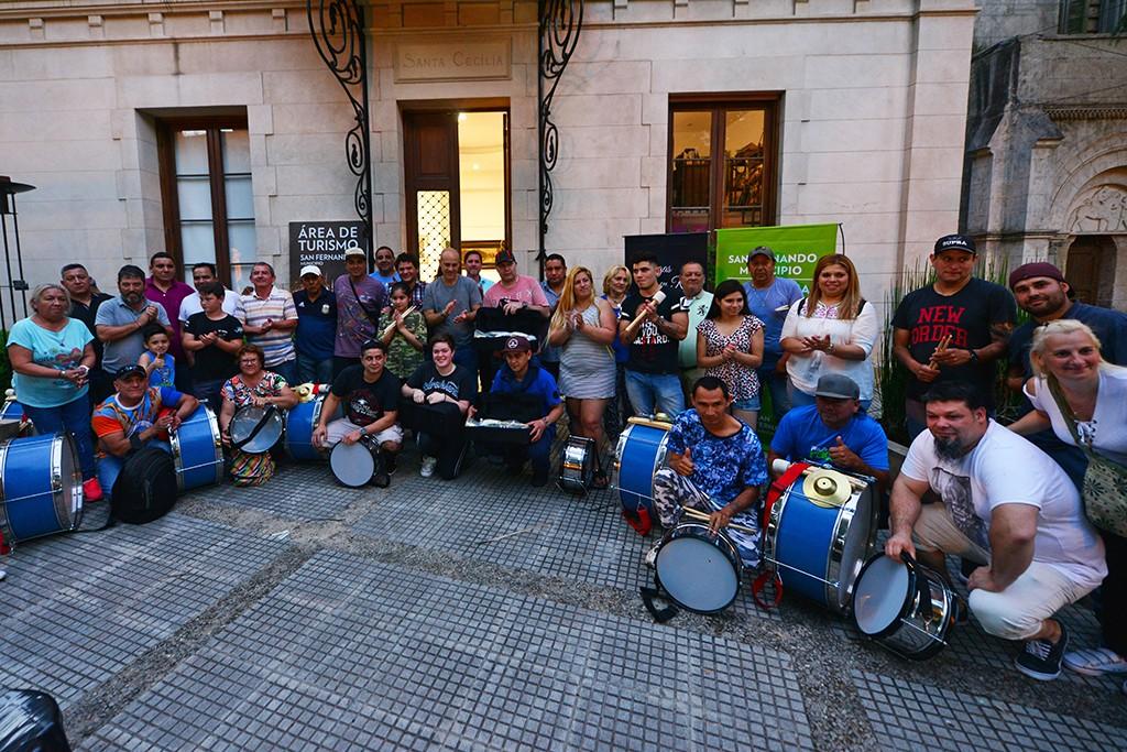 """El Municipio entregó reconocimientos a las murgas que participaron del programa """"Sanfer Recicla"""""""