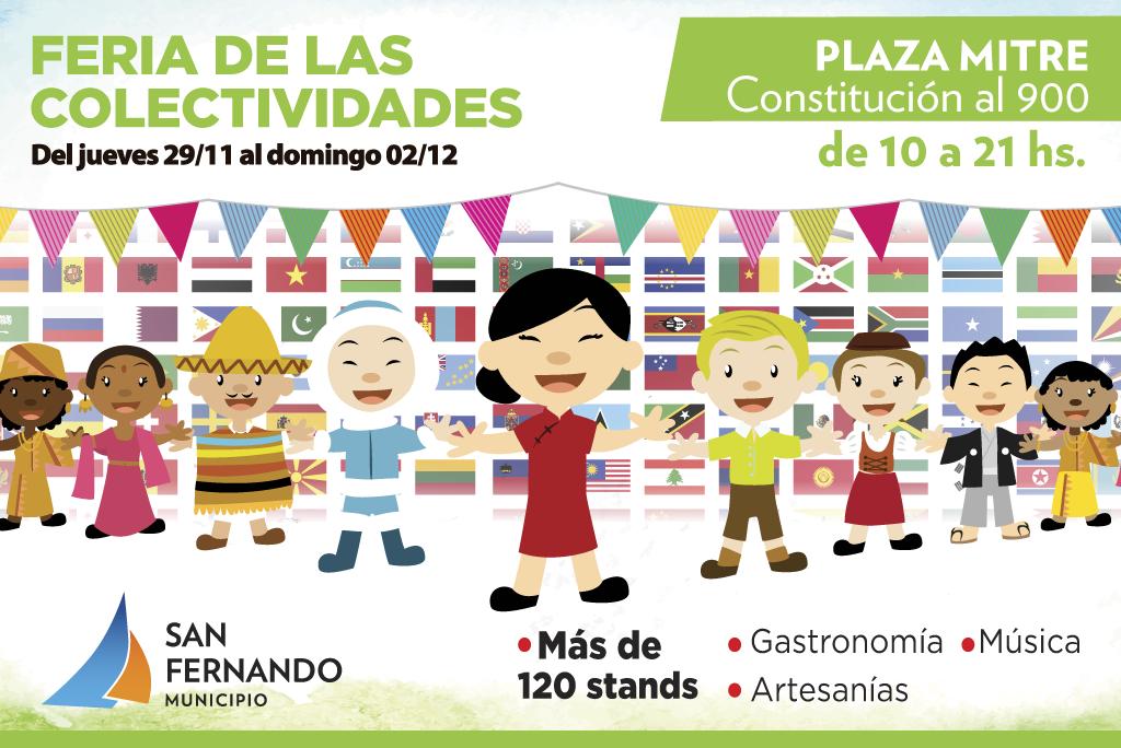 Llega la Expo de las Colectividades a la Plaza Mitre de San Fernando