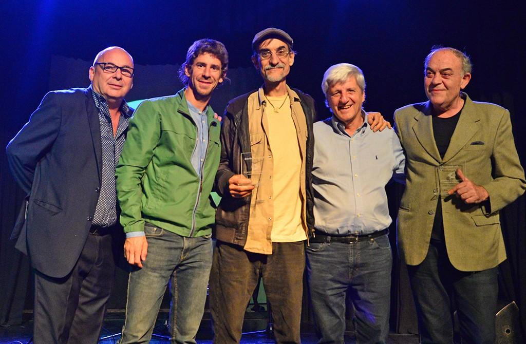 Luis Andreotti entregó reconocimientos a músicos y cantantes sanfernandinos