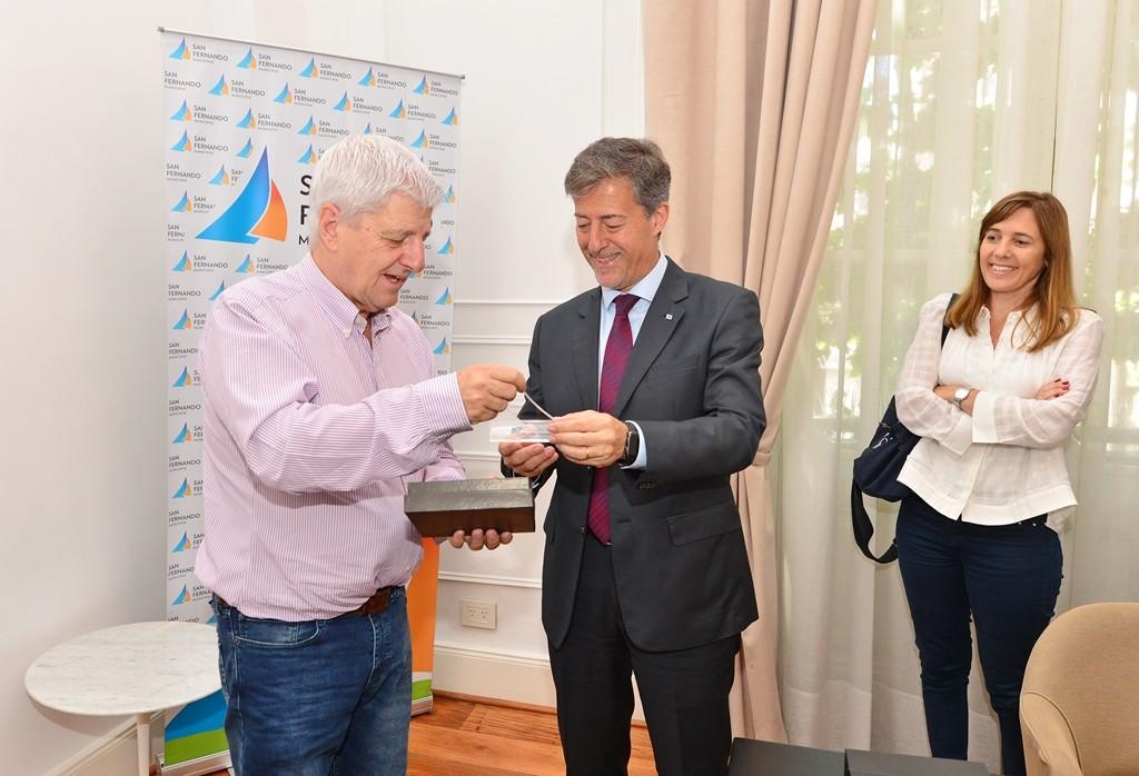 San Fernando y la UNSAM profundizan convenios de cooperación