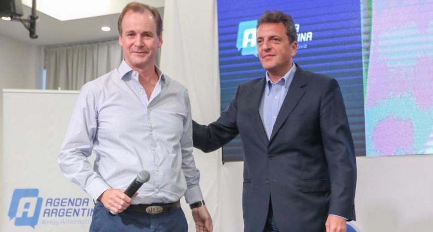 Sergio Massa junto a Gustavo Bordet por una alternativa electoral: